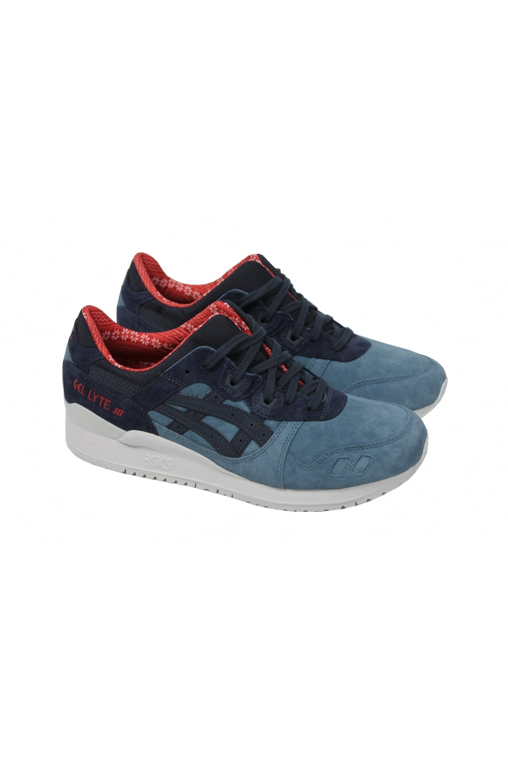 sports shoes 32513 310b7 Gel-Lyte III '2016 Christmas Pack' (Blue Mirage/India Ink)