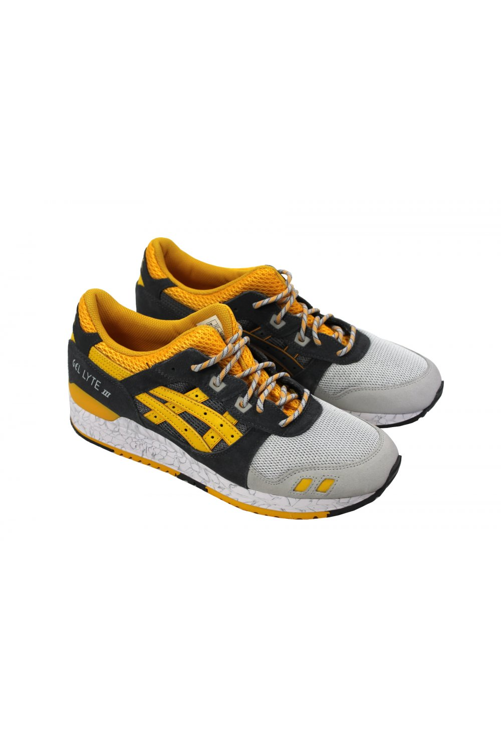 differently 61669 f3f67 Gel-Lyte III 'High Voltage Pack' (Grey/Gold Fusion)