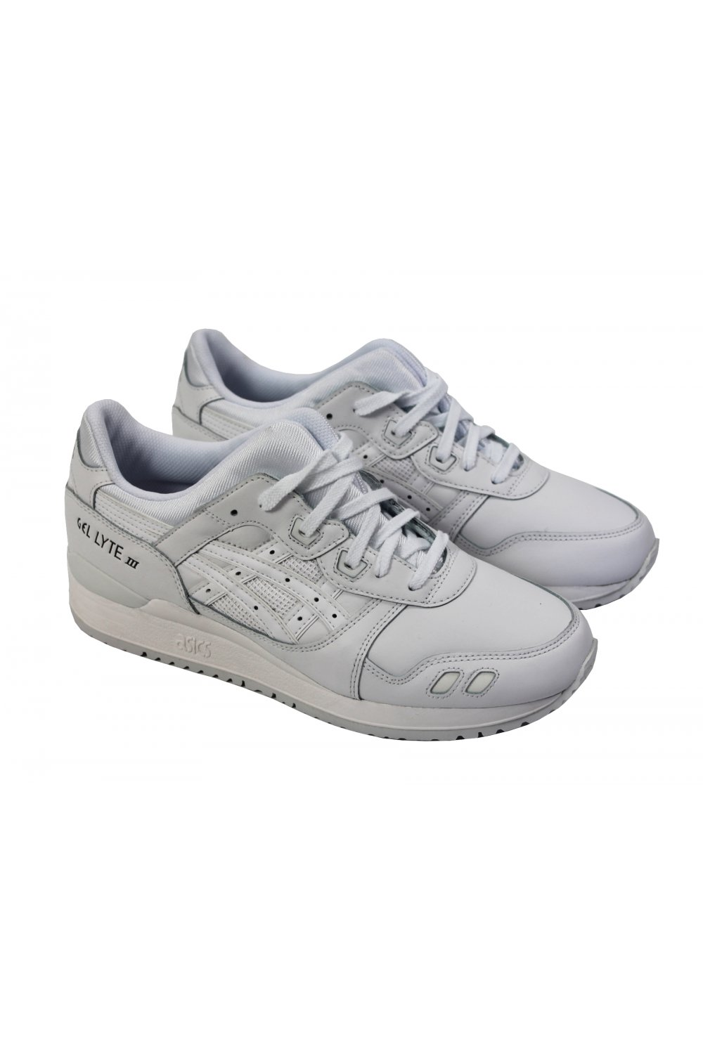 asics gel lyte iii triple white asics from thirtysix uk. Black Bedroom Furniture Sets. Home Design Ideas