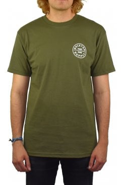 Oath Short-Sleeved T-Shirt (Olive)
