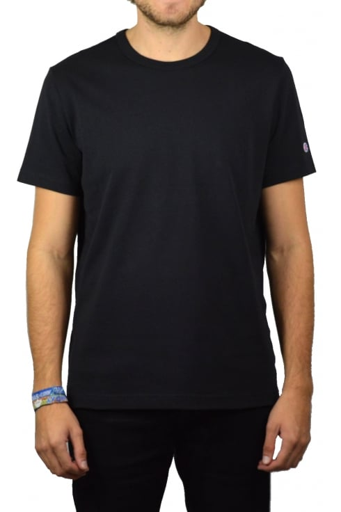 Champion Basic Crew-Neck T-Shirt (Black)