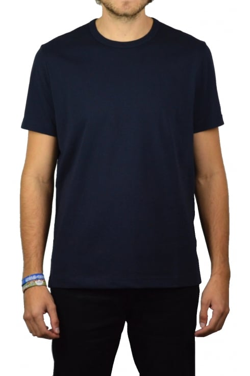Basic Crew-Neck T-Shirt (Navy)