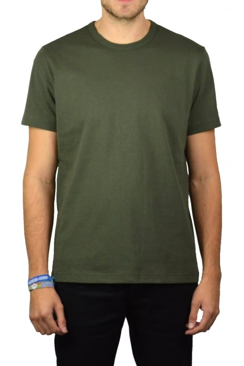 Champion Basic Crew-Neck T-Shirt (Olive)