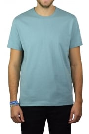 Basic Crew-Neck T-Shirt (Pale Blue)