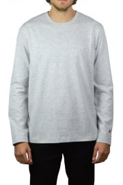 Basic Long-Sleeved T-Shirt (Grey)