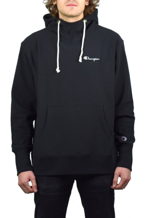 Champion Deconstructed Hooded Sweatshirt (Black)