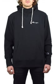 Deconstructed Hooded Sweatshirt (Black)