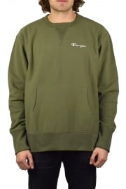 Deconstructed Sweatshirt (Olive)