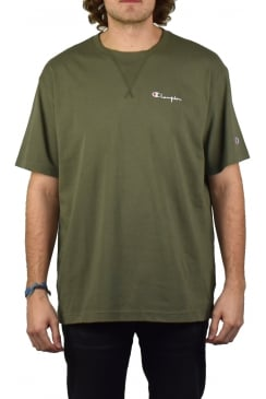Deconstructed T-Shirt (Olive)
