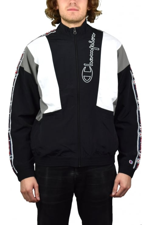 Champion Full Zip Track Track Top (Black)