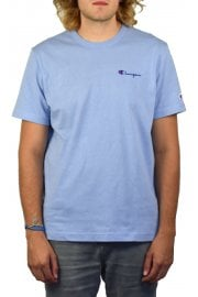 Logo Crew-Neck T-Shirt (Dusty Blue)