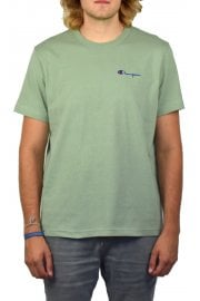 Logo Crew-Neck T-Shirt (Dusty Green)