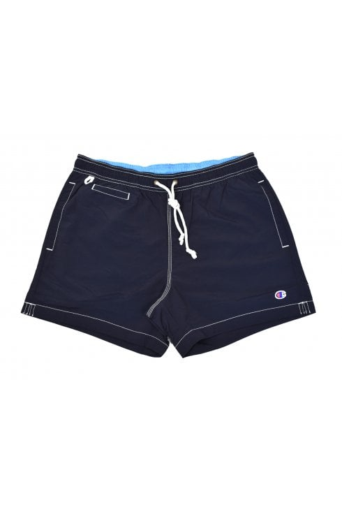 Champion Plain Swim Shorts (Navy)
