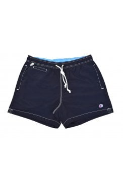 Plain Swim Shorts (Navy)