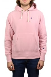 Reverse Weave Hooded Sweatshirt (Pink)