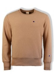Reverse Weave Sweatshirt (Brown)