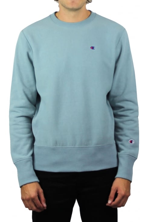Champion Reverse Weave Sweatshirt (Pale Blue)