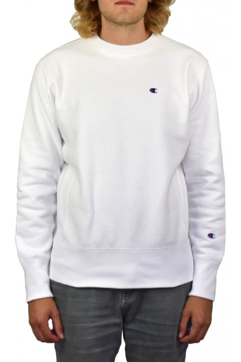 Champion Reverse Weave Sweatshirt (White)