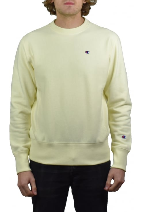 Champion Reverse Weave Sweatshirt (Yellow)