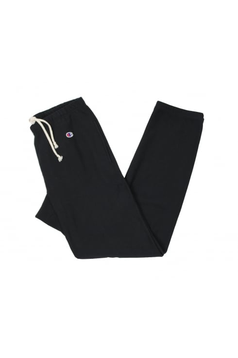 Champion Reverse Weave Track Pants (Black)