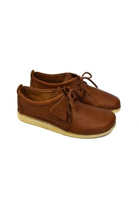 Clarks Originals Ashton Leather Shoes (Cola)
