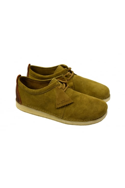 Clarks Originals Ashton Suede Shoes (Oak)