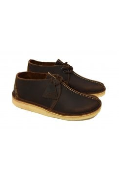 Desert Trek Leather Shoes (Beeswax)