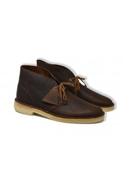 Leather Desert Boots (Beeswax)