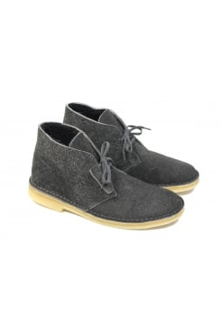 Suede Desert Boots 'Warm Pack' (Grey Lined Suede)