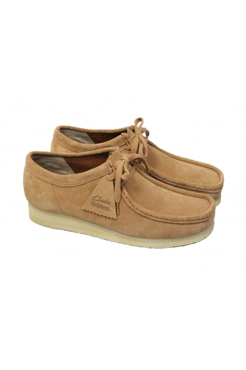 Clarks Originals Wallabee Suede Shoes (Fudge)
