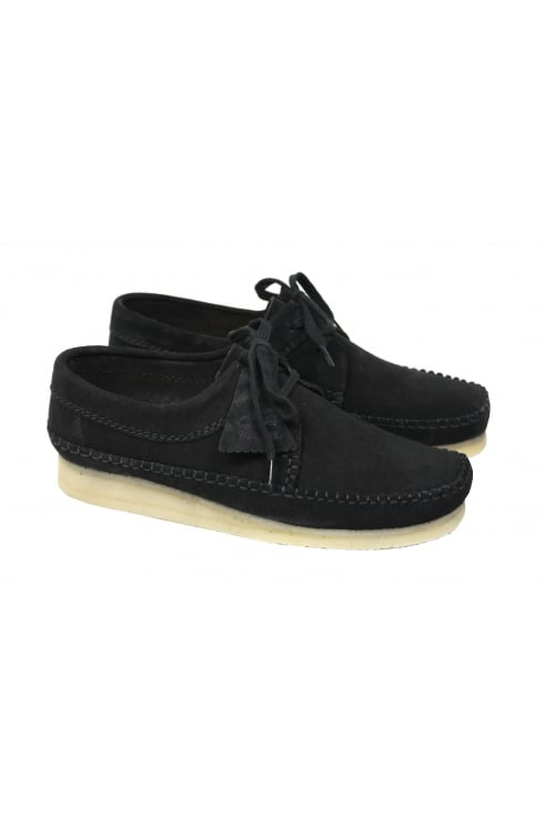 Weaver Suede Shoes (Black)