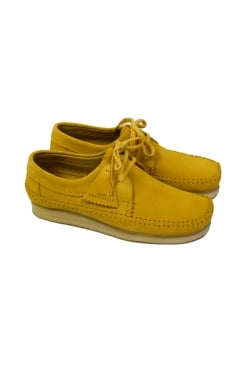Weaver Suede Shoes (Yellow)