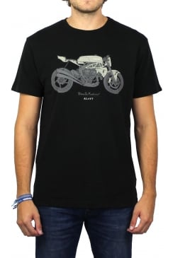 Agott Short-Sleeved T-Shirt (Black)