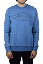 Chalk Indigo Crew Sweatshirt (Light Indigo)