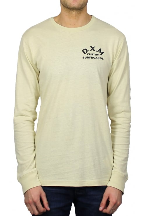 Deus Ex Machina Coil Long-Sleeved T-Shirt (Off White)
