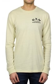 Coil Long-Sleeved T-Shirt (Off White)