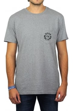 Deus Logo Short-Sleeved T-Shirt (Grey Marl)
