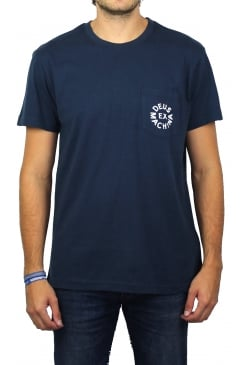 Deus Logo Short-Sleeved T-Shirt (Navy)