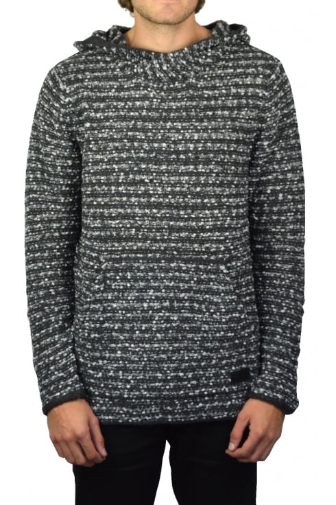Deus Ex Machina Jarvis Hooded Sweatshirt (Charcoal)