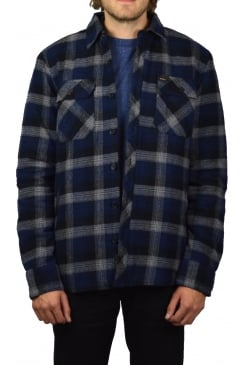 Maxwell Plaid Overshirt (Navy Plaid)