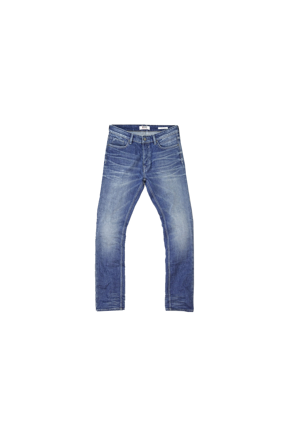 hiryu slim tapered fit jeans vintage blue from thirtysix uk. Black Bedroom Furniture Sets. Home Design Ideas