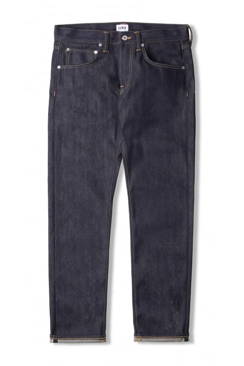Edwin ED-55 Regular Tapered 63 Rainbow Selvage Jeans (Unwashed Blue)
