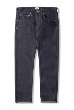 ED-55 Regular Tapered 63 Rainbow Selvage Jeans (Unwashed Blue)