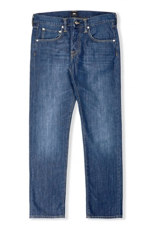Edwin ED-55 Regular Tapered Jeans (Mid Coal Wash)