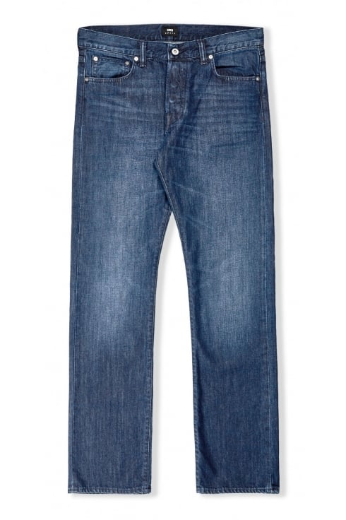 Edwin ED-71 Slim Straight Jeans (Blue Mid Coal)