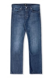 ED-71 Slim Straight Jeans (Blue Mid Coal)