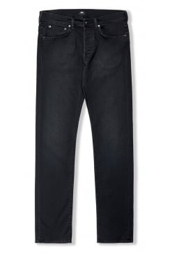 ED-80 Slim Tapered Jeans (CS Black Ink Denim - Mineral Wash)