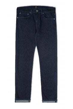 ED-80 Slim Tapered Red Listed Selvage Jeans (Blue Rinsed)