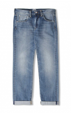 Edwin Jeans ED-55 Red Listed Selvage Jeans (Classic Light Wash)