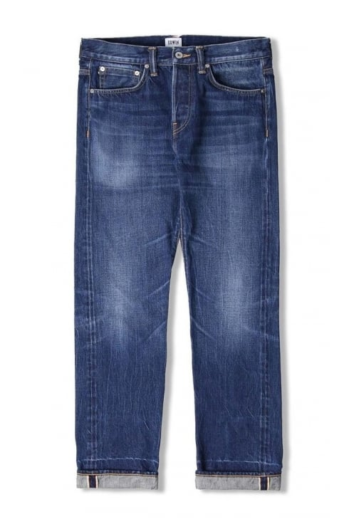Edwin Jeans ED-55 Regular Tapered 63 Rainbow Selvage Jeans (Kiyoshi Wash)